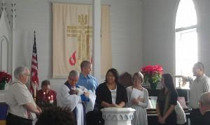 logan's baptism